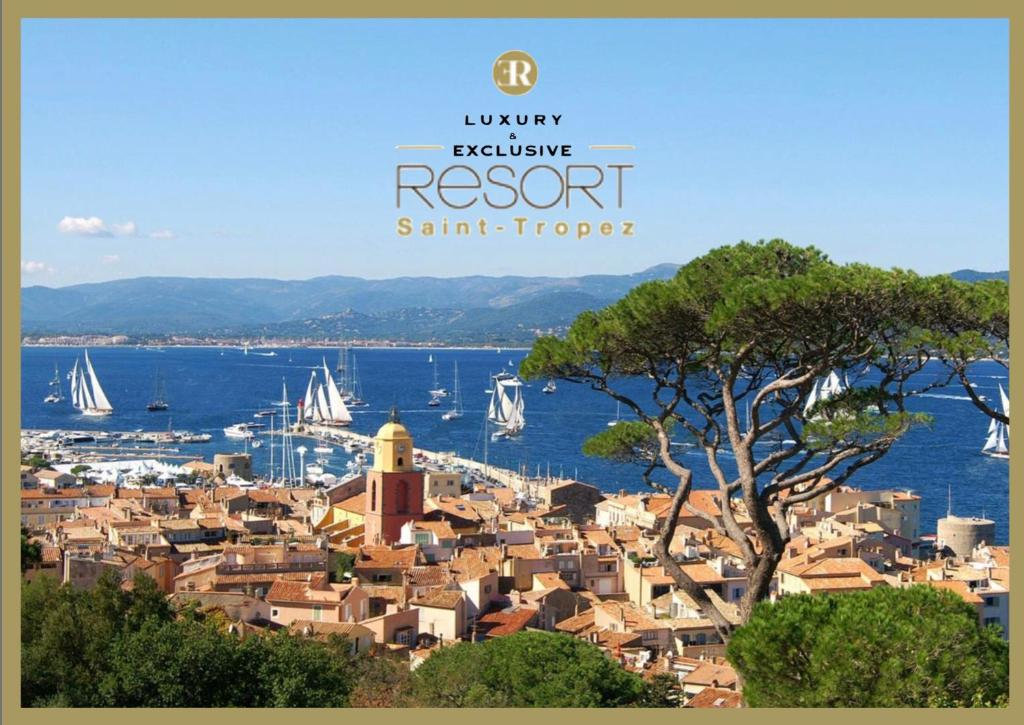 A bird's-eye view of Luxury & Exclusive Resort