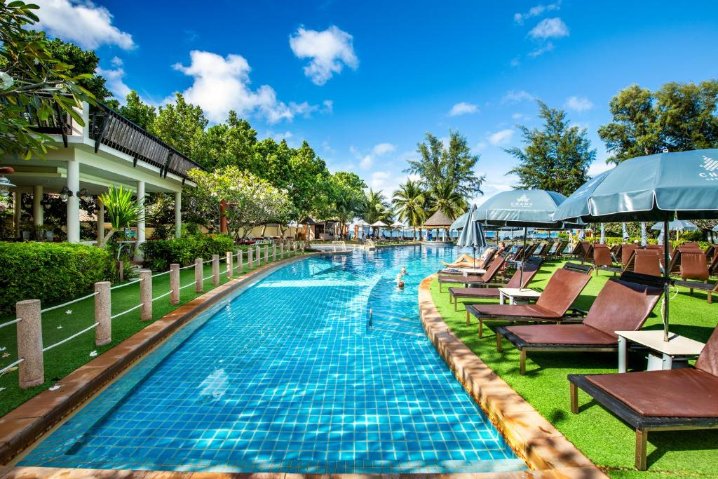 The swimming pool at or near Lanta Cha-da Resort - SHA Plus