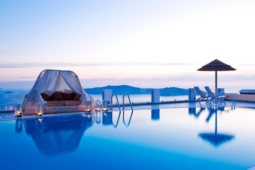 The swimming pool at or close to Santorini Princess Spa Hotel