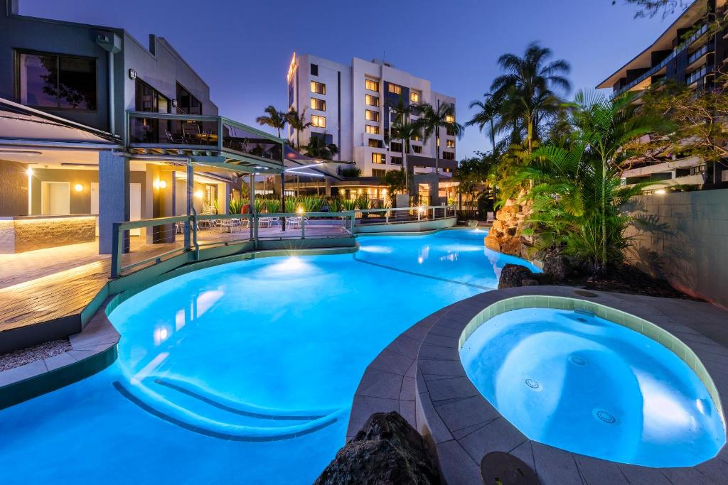 The swimming pool at or near View Brisbane