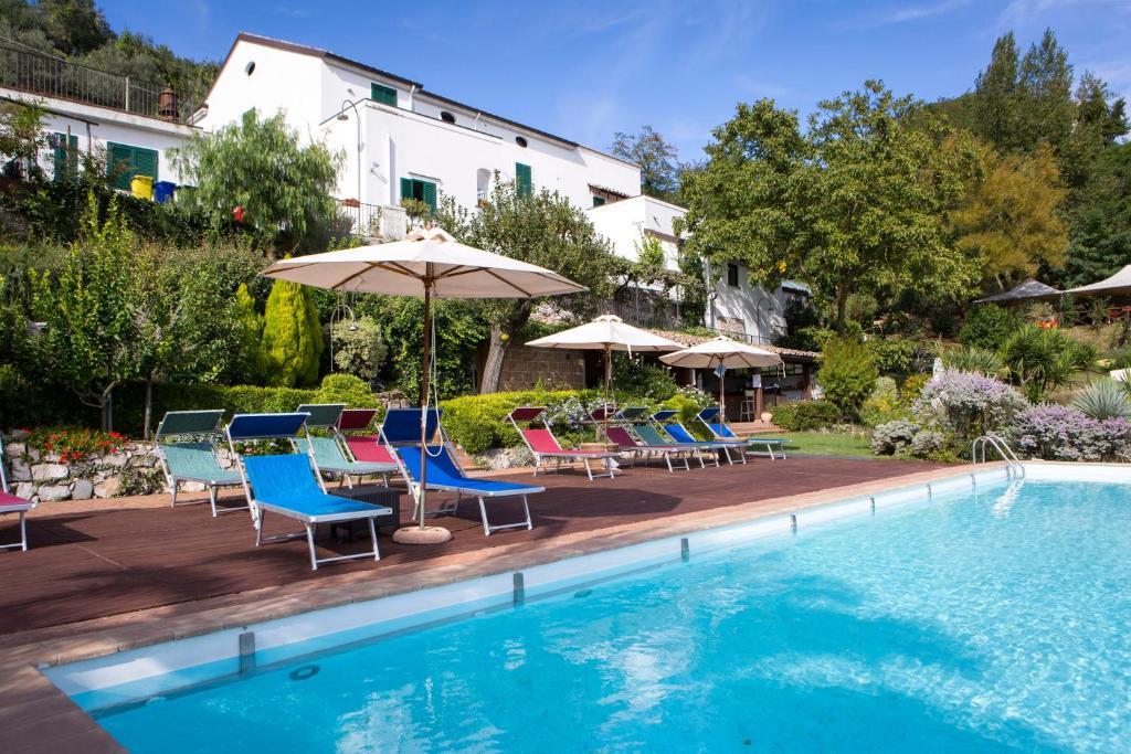 The swimming pool at or close to Agriturismo Villa Lupara