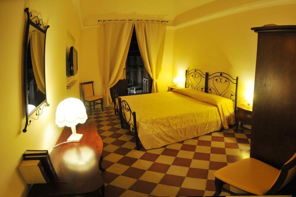 アル ドゥオーモ インにあるベッド