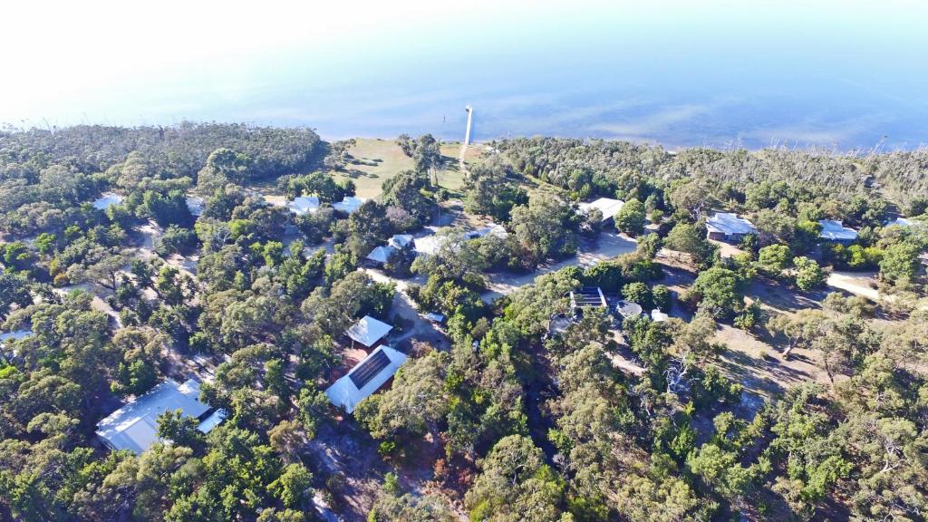 A bird's-eye view of Waterfront Retreat At Wattle Point