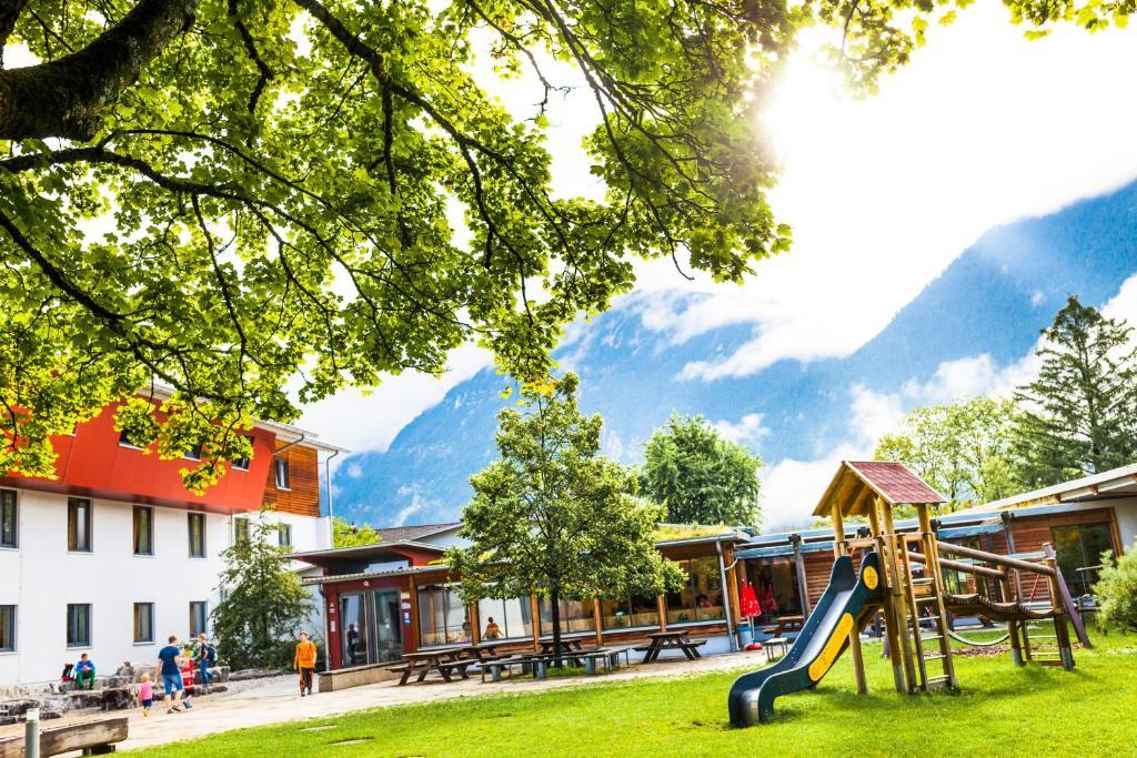Children's play area at Jugendherberge Garmisch-Partenkirchen