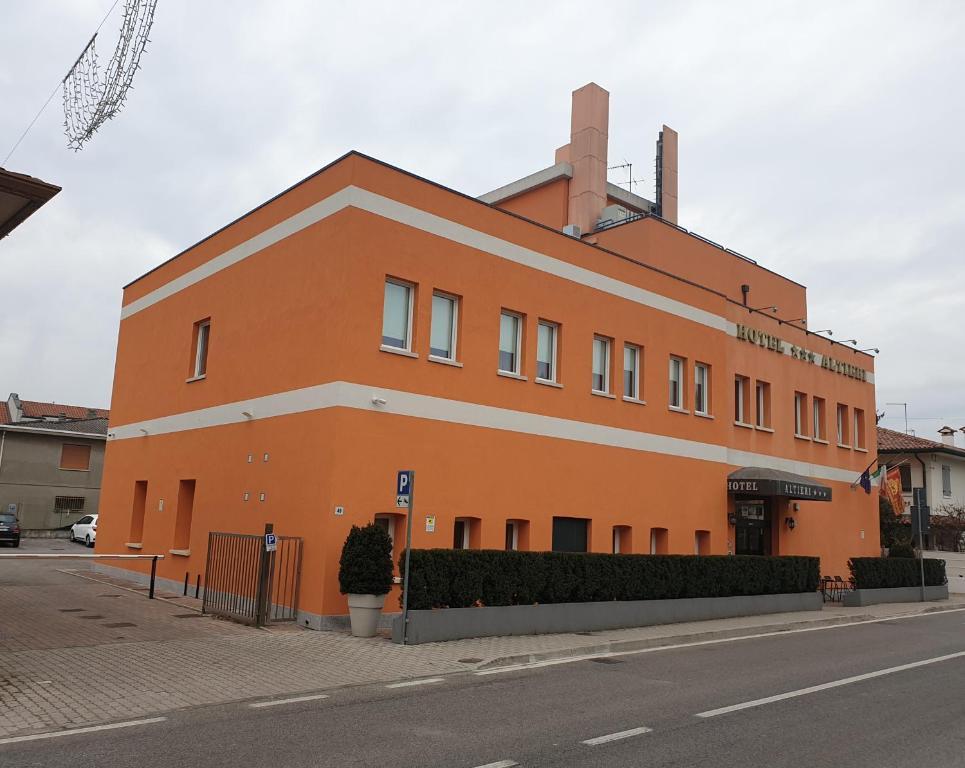 Hotel Altieri - Laterooms