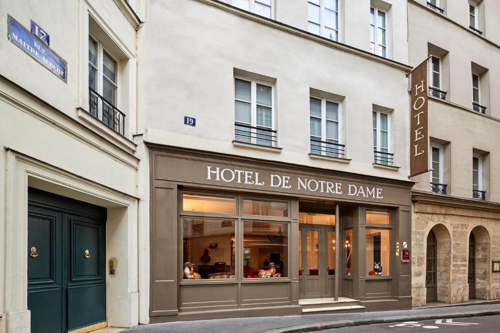 Hotel de Notre-Dame Paris, France