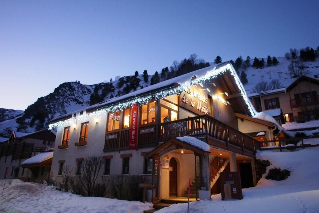 Appart'hotel Panoramic-Village during the winter