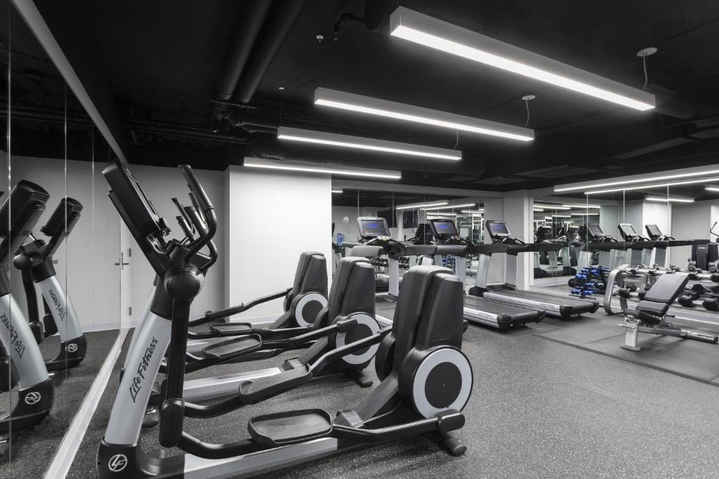 The fitness center and/or fitness facilities at Loews Minneapolis Hotel