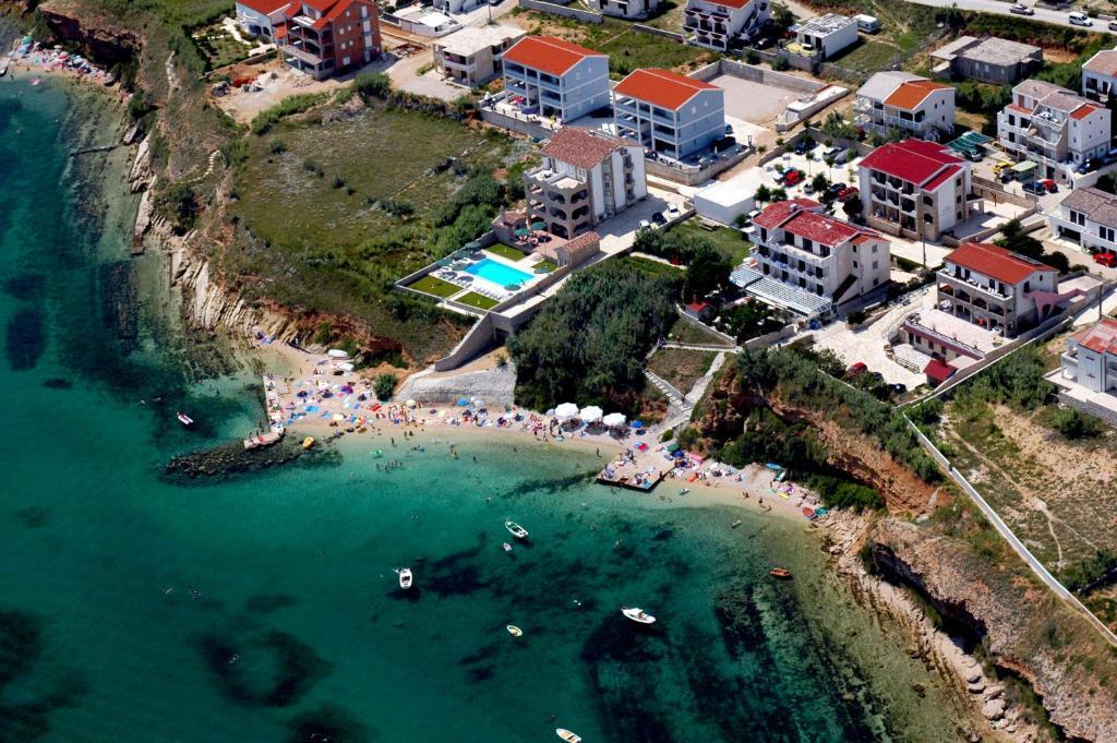 Vista aerea di Hotel Biser