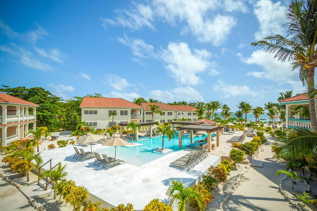 A view of the pool at Belizean Shores Resort or nearby