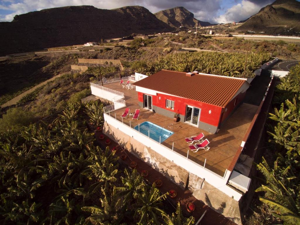 """Vista aerea di Villas """"Finca Los Frontones"""" A & B"""