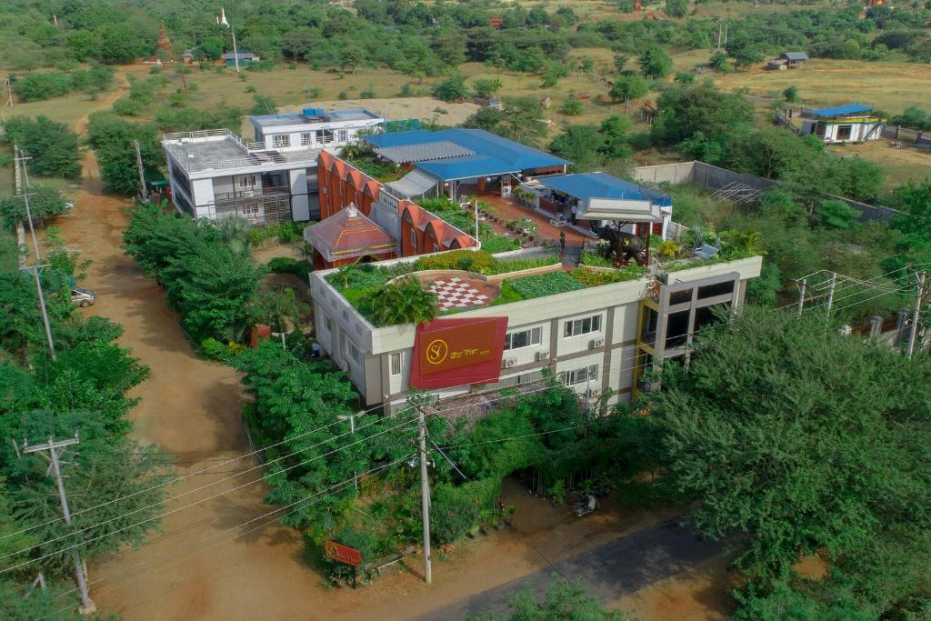 A bird's-eye view of Sky View Hotel