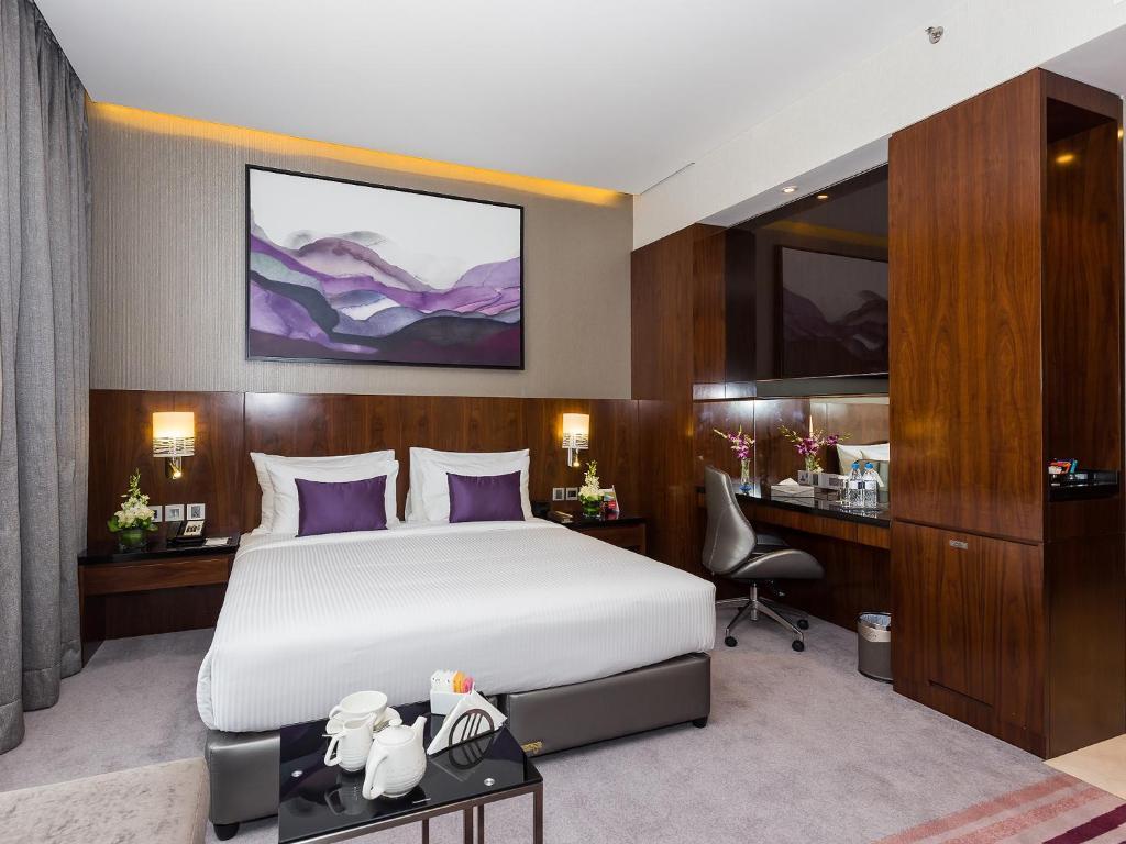 A room at the Flora Al Barsha Hotel at the Mall.