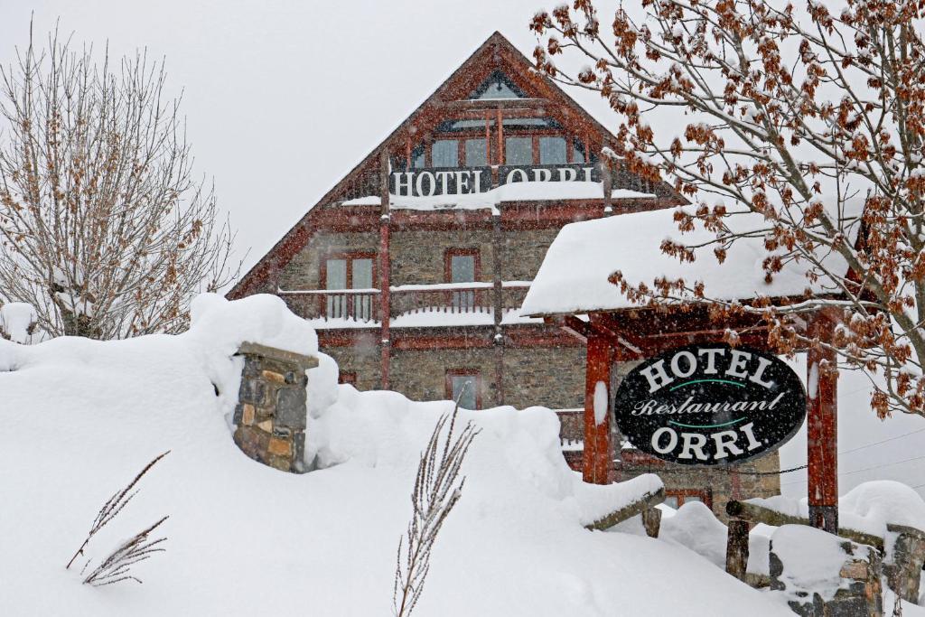 RVHotels Orri during the winter