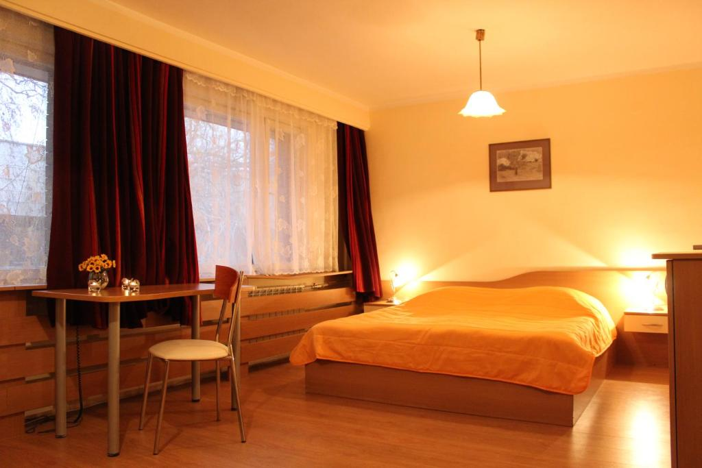 A bed or beds in a room at Hotel of Bulgarian Academy of Sciences