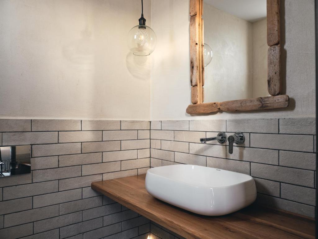 A bathroom at Casa di Pierro
