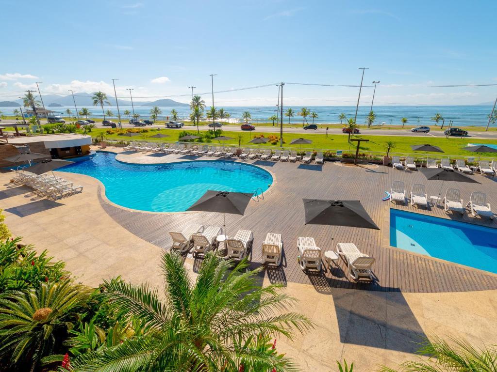 Uma vista da piscina em Hotel Costa Norte Massaguaçu ou nos arredores