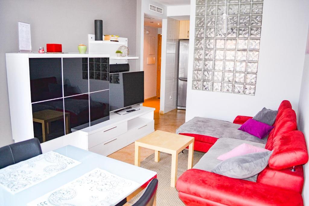 Zona de estar de Classy Apartments