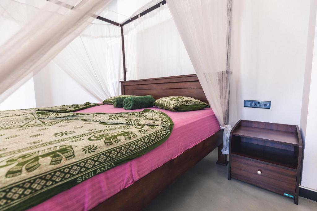 Cama o camas de una habitación en Coppenrath Hostel