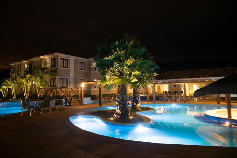 A piscina localizada em Santíssimo Resort ou nos arredores