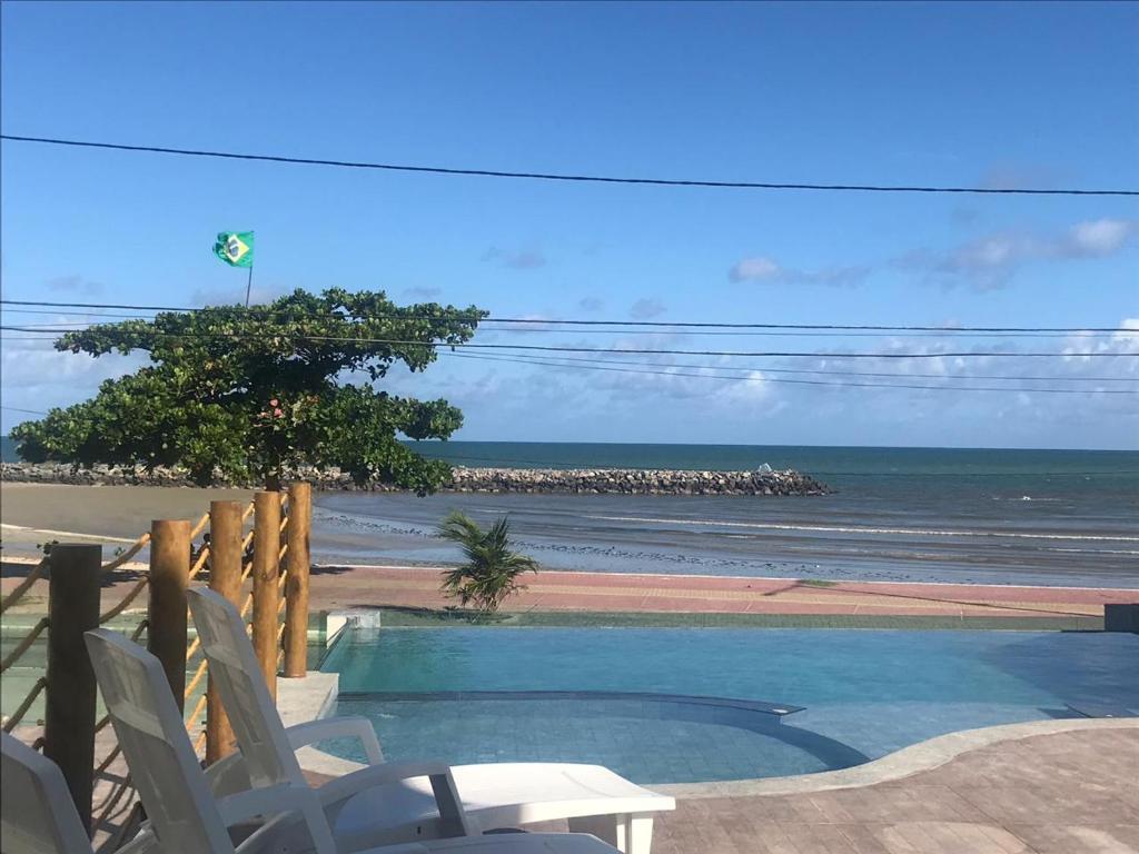 The swimming pool at or near Casamar Pousada