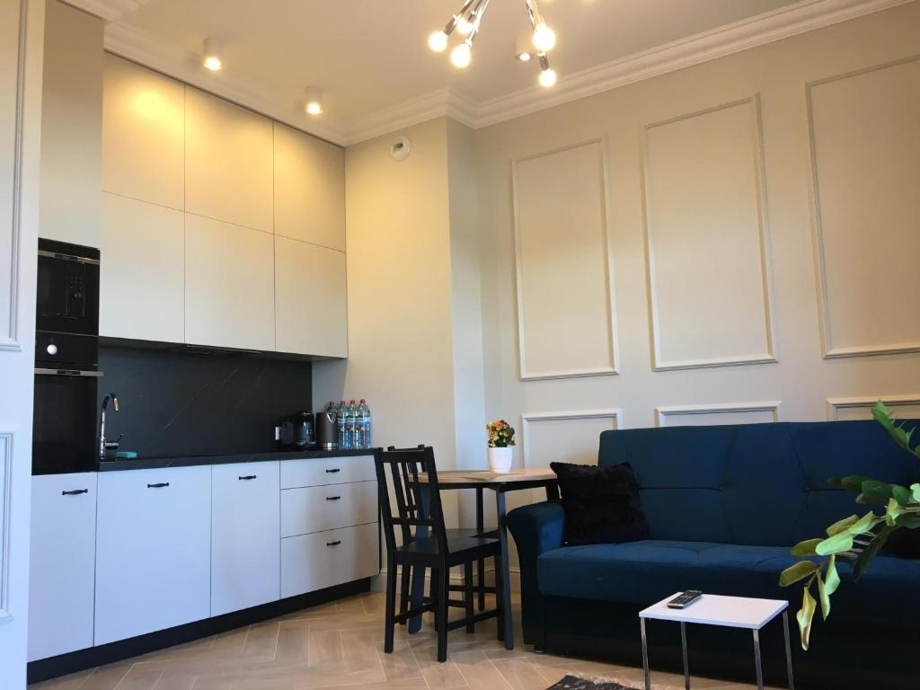 Kuchnia lub aneks kuchenny w obiekcie Apartamenty Platinum Loft