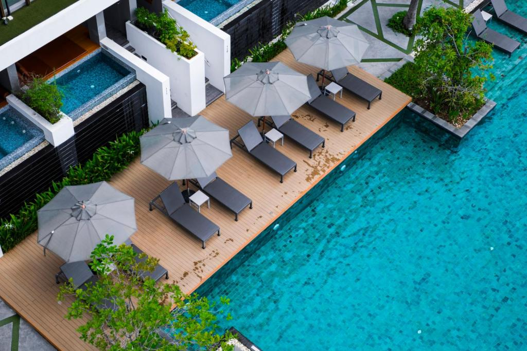 A view of the pool at G Hua Hin Resort & Mall or nearby