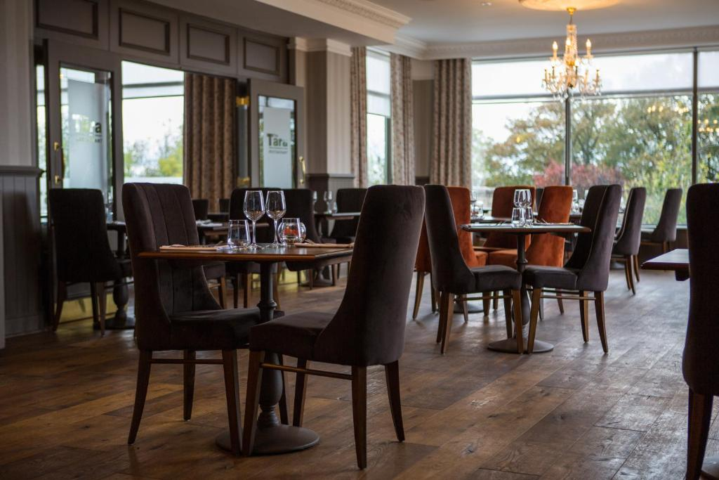 A restaurant or other place to eat at Hatton Court Hotel