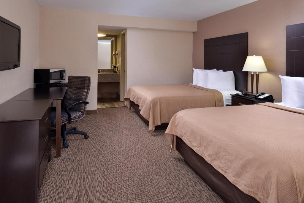 A room at the Airport Inn.