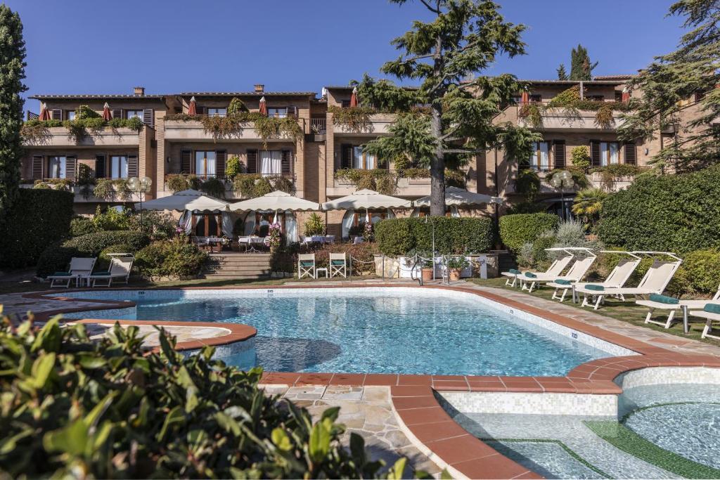 The swimming pool at or near Relais Santa Chiara Hotel