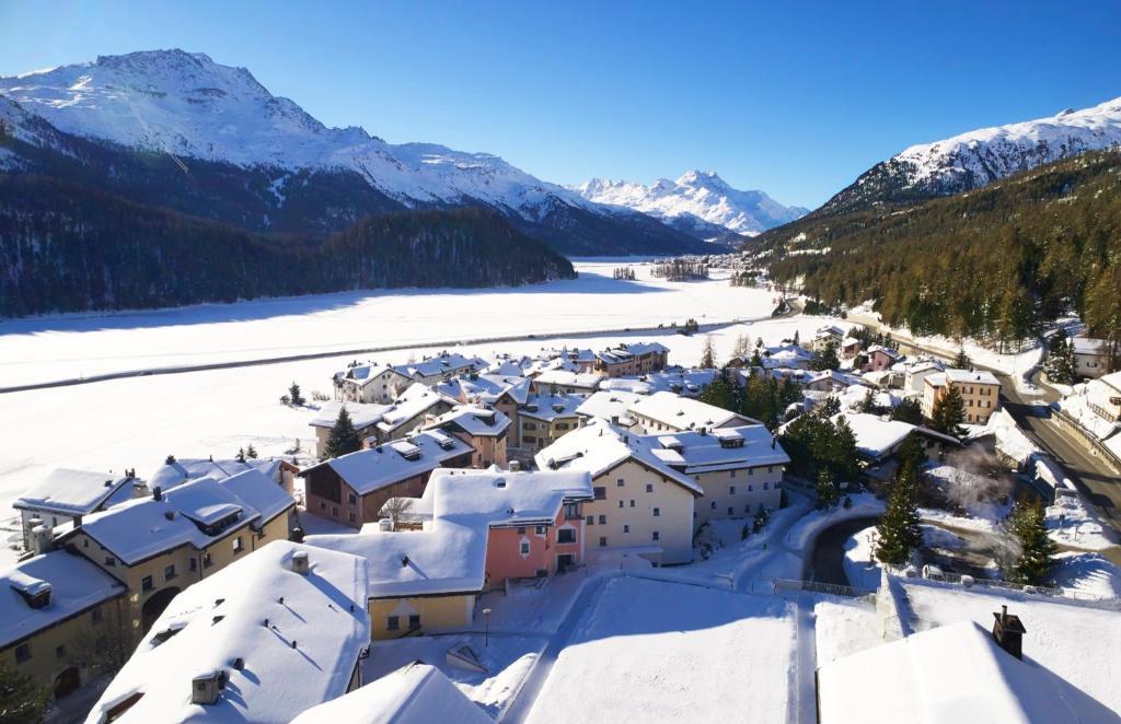 Giardino Mountain im Winter