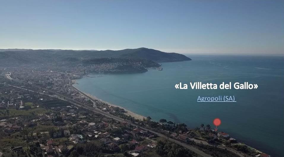 A bird's-eye view of La Villetta del Gallo Eco House