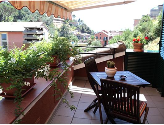 A balcony or terrace at Marvit Affittacamere