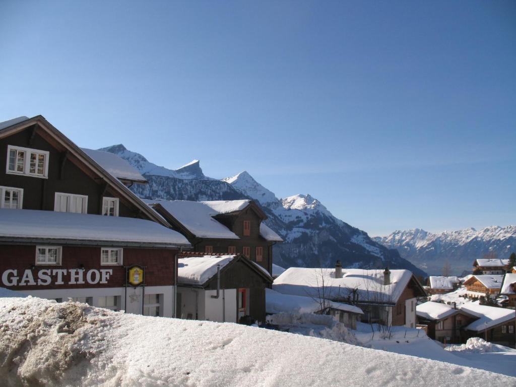 Chez Martial зимой