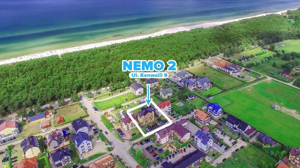 Widok z lotu ptaka na obiekt NEMO 2