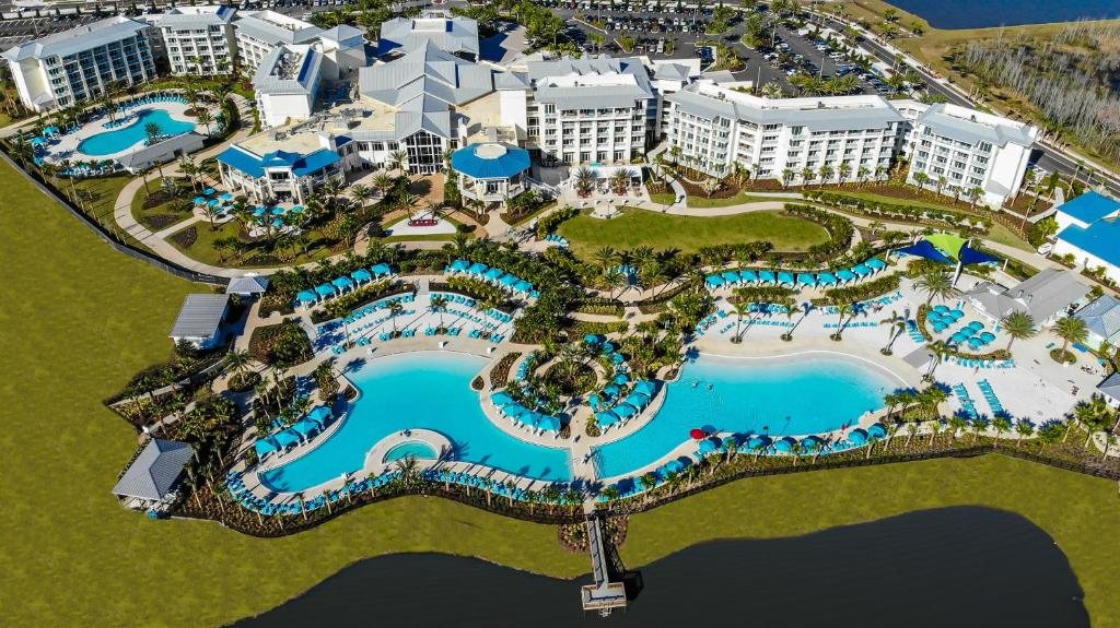 A bird's-eye view of Margaritaville Resort Orlando