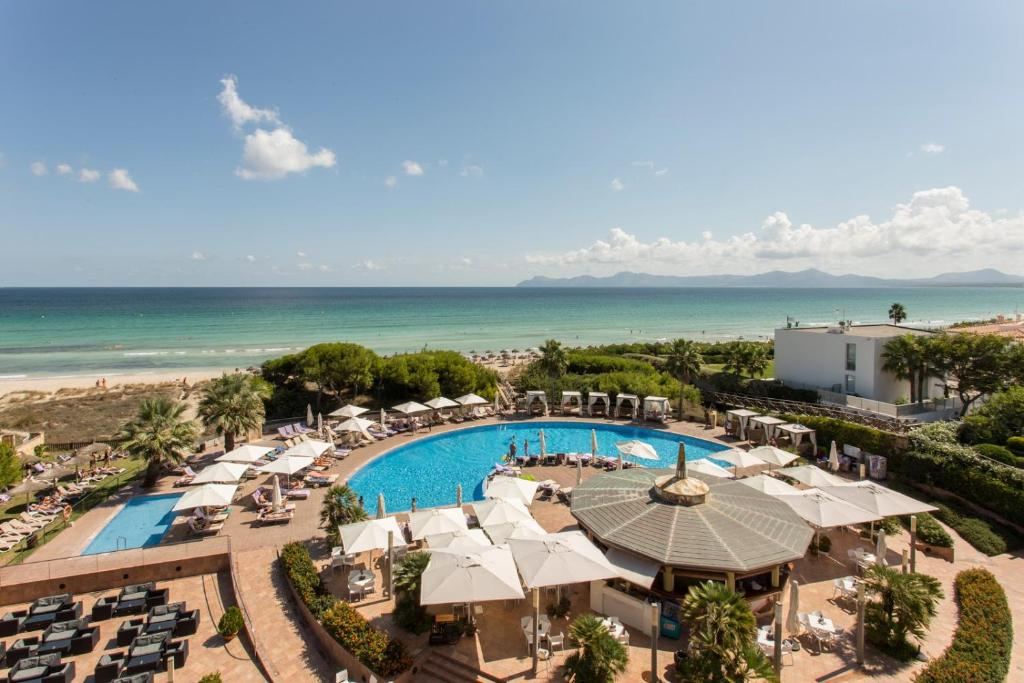 A view of the pool at Be Live Collection Palace de Muro or nearby