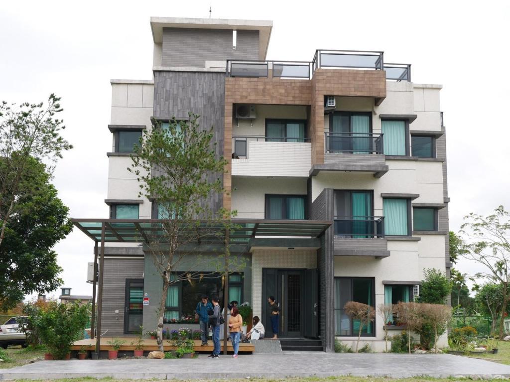 民宿所在的建築