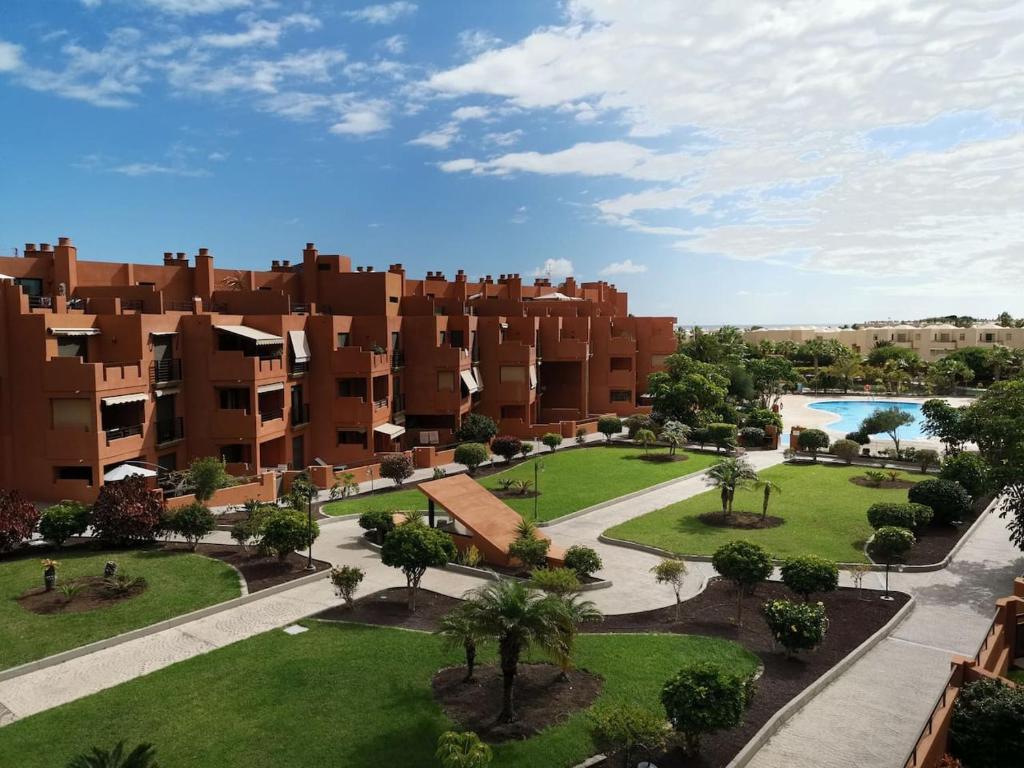 A view of the pool at Апартамент с 1 спальней в La Tejita (El Medano) or nearby
