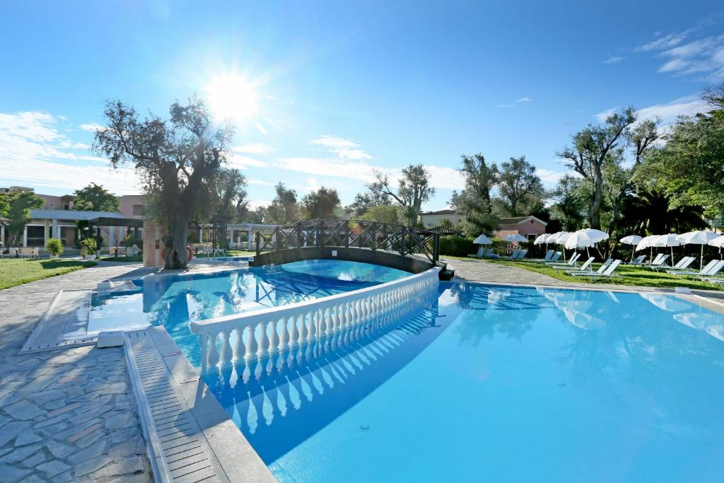 The swimming pool at or near Apollo Palace