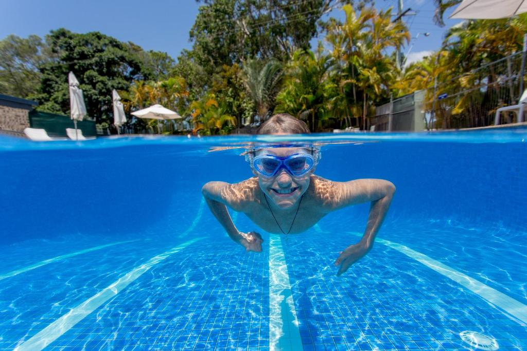 The swimming pool at or near Ingenia Holidays Noosa North