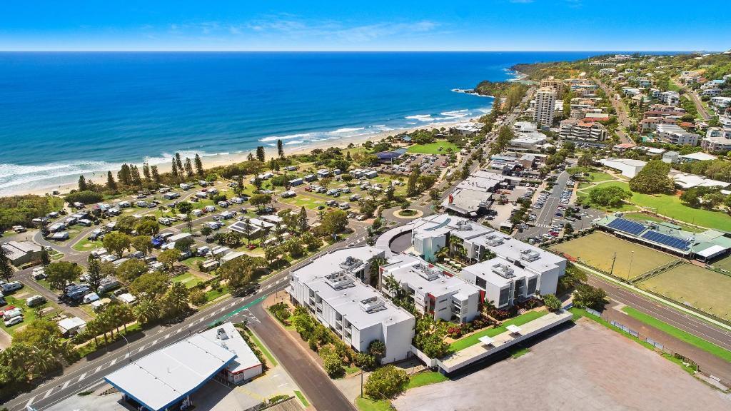 A bird's-eye view of Element on Coolum Beach