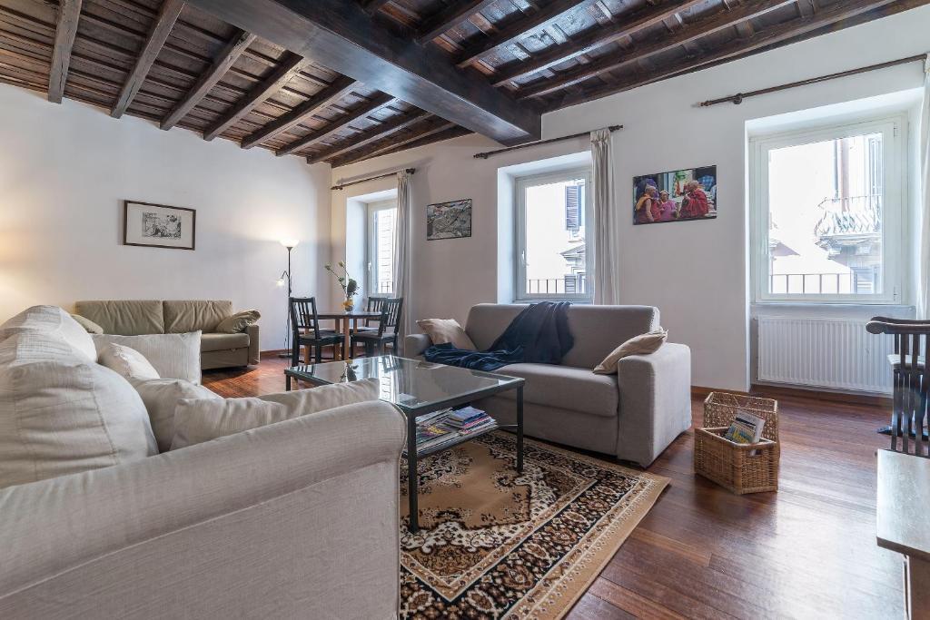 Area soggiorno di Spanish Steps - Feels like Home