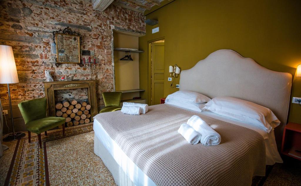 Cama o camas de una habitación en Acacia Apartments Agave-Aloe-Adenia