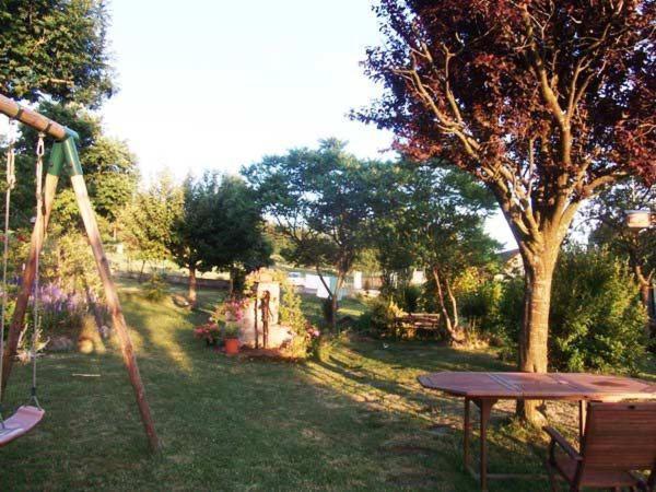 A garden outside Les Frênes