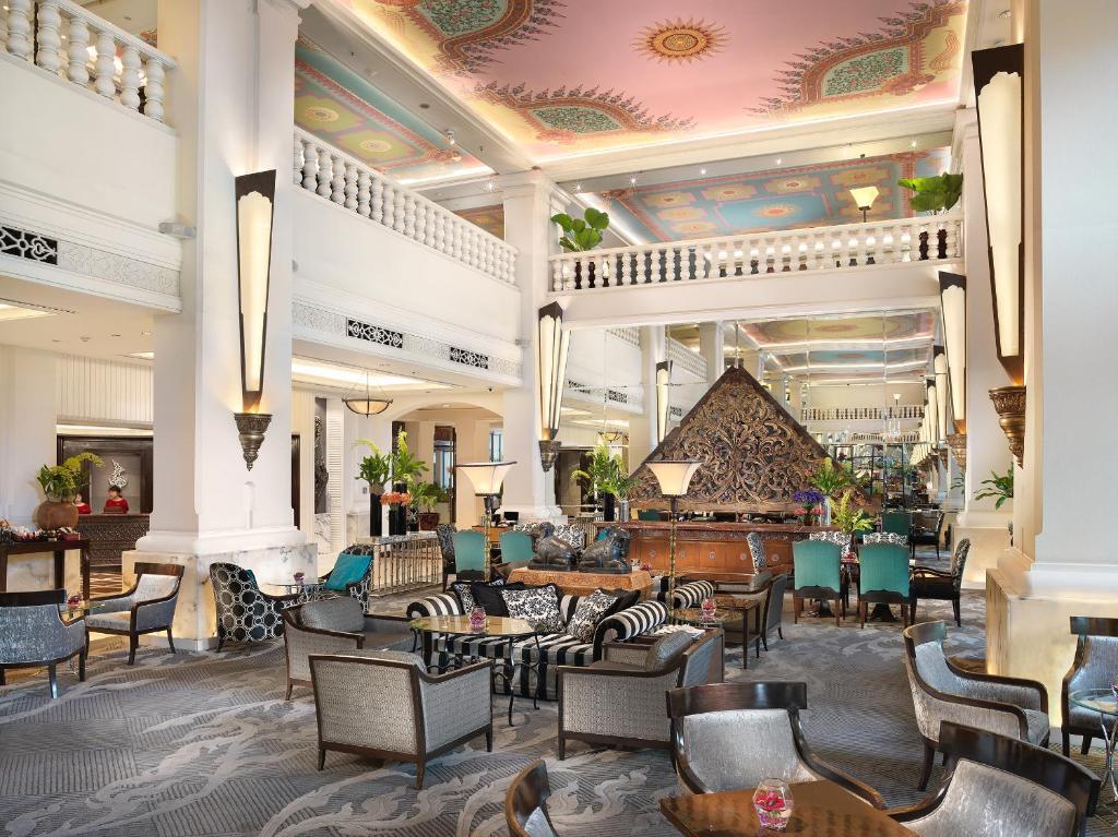 Salone o bar di Anantara Siam Bangkok Hotel - SHA Plus Certified