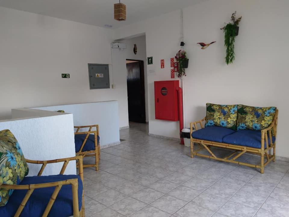 A seating area at San Marino Hotel