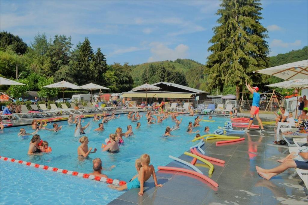 The swimming pool at or near Camping Benelux