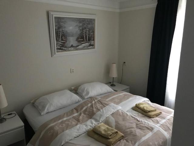 Ein Bett oder Betten in einem Zimmer der Unterkunft B&B Under the Mill
