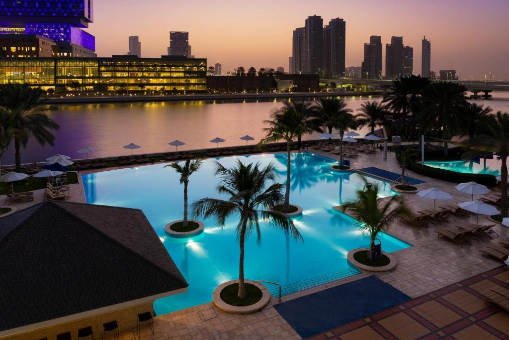 The swimming pool at or near Beach Rotana - Abu Dhabi